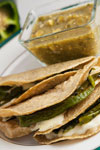 Quesadillas con Rajas
